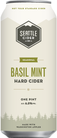 Seattle Cider Basil Mint Cider