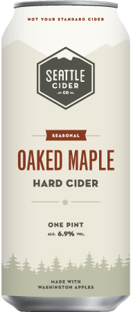 Seattle Cider Maple Hard Cider
