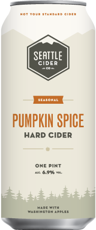 Seattle Cider Pumpkin Hard Cider